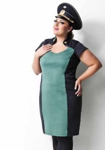 Os modelos de vestidos plus size atuais não são somente bonitos, eles também valorizam o corpo das mulheres gordinhas (Foto: Divulgação)