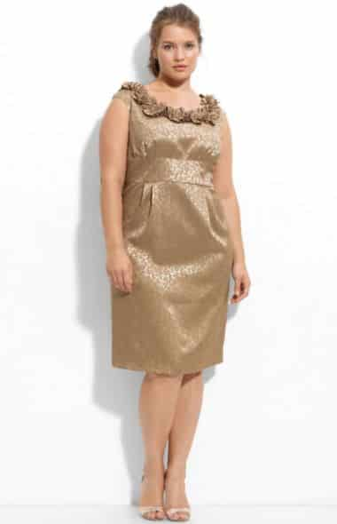 A moda plus size para baixinhas também criará ilusão de silhueta mais afinada (Foto: Divulgação)