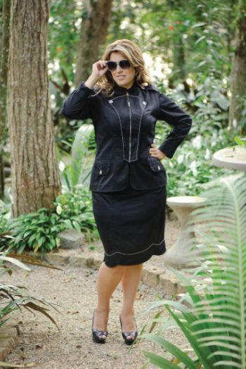 A moda 2014 pode ser usada a favor das mulheres gordinhas baixinhas, desde que optem por peças que sejam mais condizentes com seu formato de corpo (Foto: Divulgação)