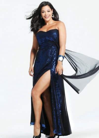 As mulheres gordinhas podem continuar investindo nos vestidos em 2014 para ficarem ainda mais bonitas (Foto: Divulgação)