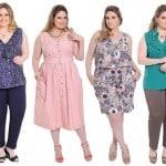 ideias de roupas plus size