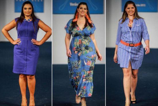 As roupas para gordinhas para o Natal 2013 devem seguir o nível de sofisticação da ceia em que irão participar (Foto: Divulgação)