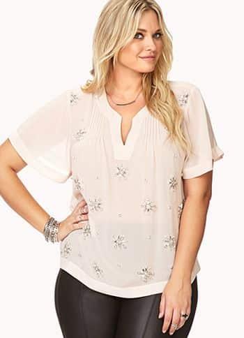 blusas sociais para gordinhas modelos