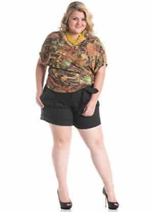Os shorts de tecido para gordinhas estão liberados, porém há algumas ressalvas e é necessário seguir algumas regrinhas (Foto: Divulgação)
