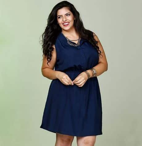 Há muitos modelos de vestido para gordinhas usarem neste verão (Foto: marisa.com.br) 89,99