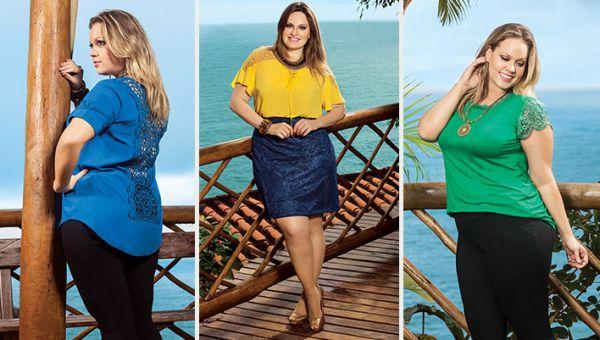As tendências para moda plus size 2015 estão bem especiais (Foto: predilectsplus.com.br)