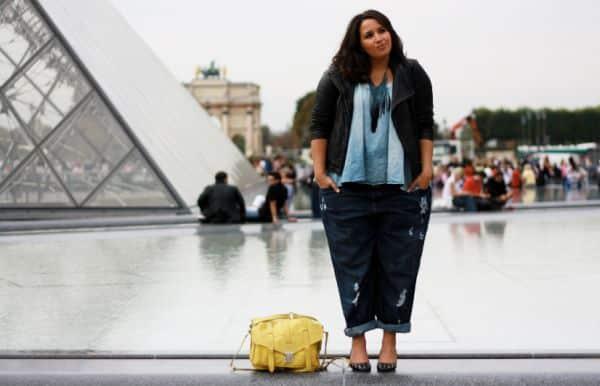 Escolha o seu preferido entre os muitos modelos de calças jeans largas para gordinhas (Foto: opeixefresco.wordpress.com)