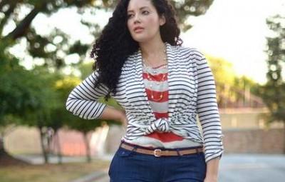 Modelos de Blusas de Amarrar para Gordinhas