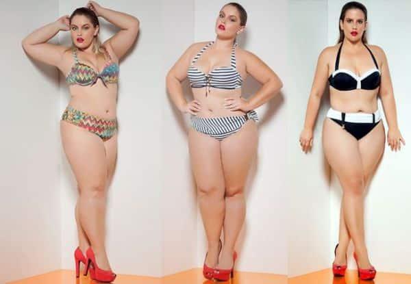 Os modelos de biquínis com bojo para gordinhas são bem interessantes (Foto: pinterest.com)