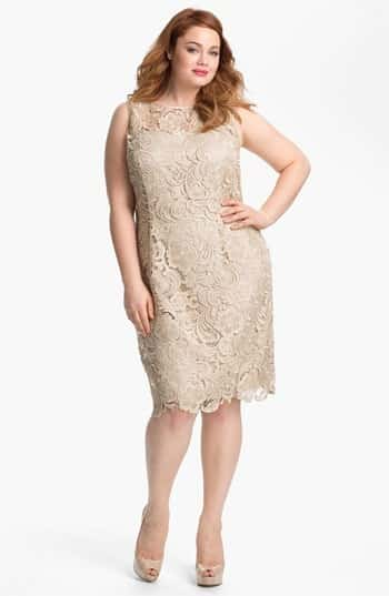 Image Result For Champagne Wedding Dresses Plus Size