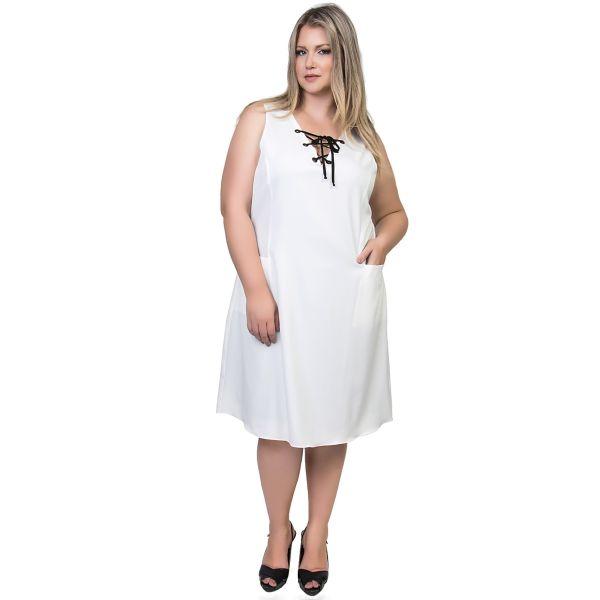 Invista nesta temporada em modelos de vestidos com bolso para gordinhas (Foto: tresur.com.br) 449,00