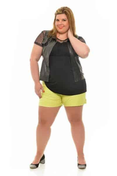 Moda blusão para gordinha é linda e pode ser truque de moda (Foto: tamanhosespeciais.com.br) Blusão 129,99