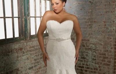 Vestidos de Casamento Sereia para Gordinhas