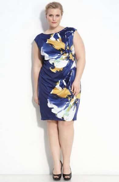 Modelos de Vestidos Floral para Gordinhas 8