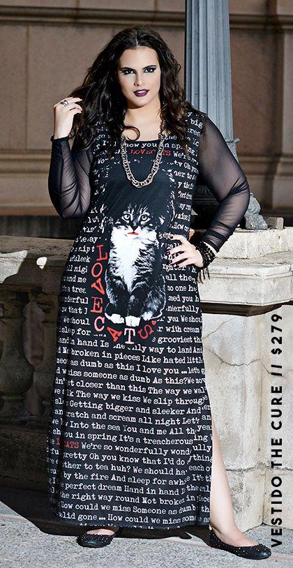 Os acessórios moda rock para gordinhas são bem interessantes (Foto: lojachicabolacha.com.br)