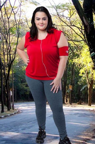 Confira a moda inverno de academia para gordinhas (Foto: rosanatorres.com.br) Legging R$ 86,90
