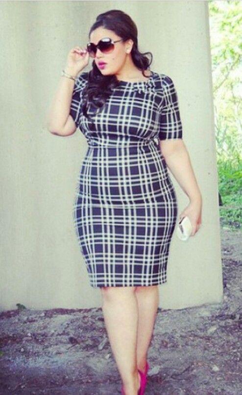 Moda de Vestido Xadrez
