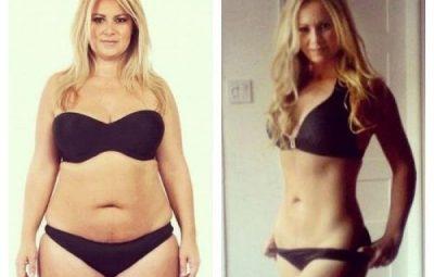 pessoas gordas que emagreceram com dieta