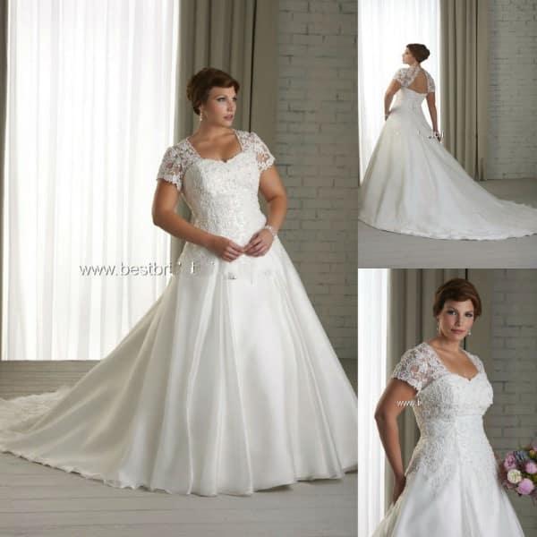 Fotos vestidos de noiva para gordas e baixas