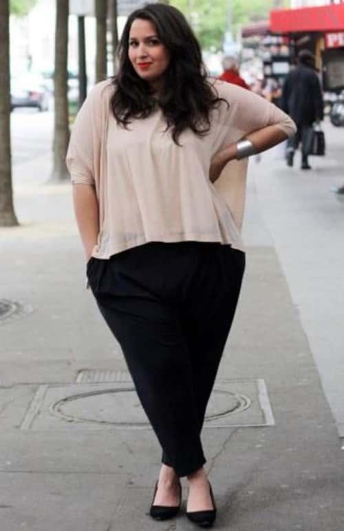 ideias de moda para gordinhas com barriga