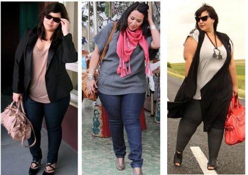 moda para gordas com barriga