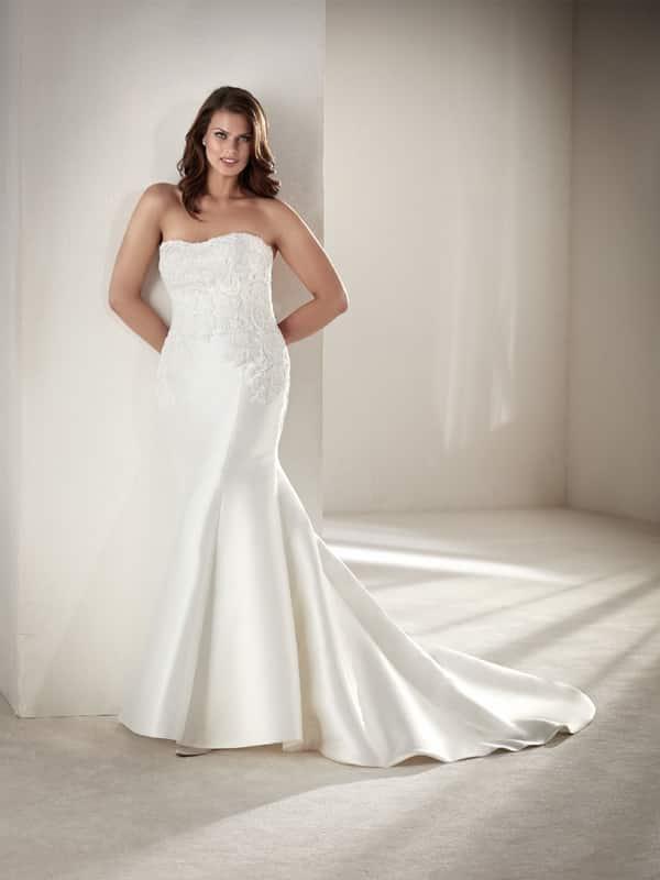 vestido plus size de noiva barato