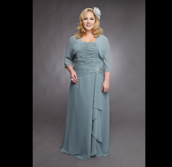 vestido de casamento verde