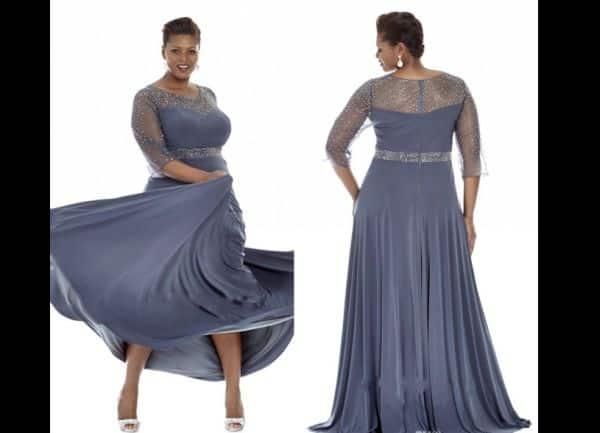 vestido de casamento fluido