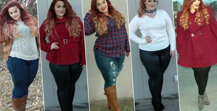 a3d6584cc0 Looks de inverno Plus Size roupas 3 - Plus Size com Estilo