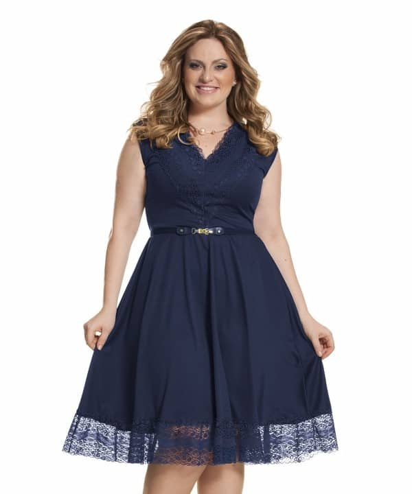 vestido-festa-gospel-renda-plus-size