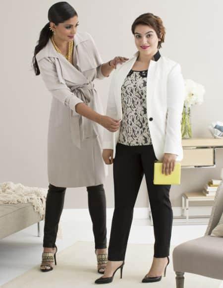 As dicas de estilo para parecer mais magra realmente funcional e são perfeitas para as mulheres gordinhas (Foto: Divulgação)