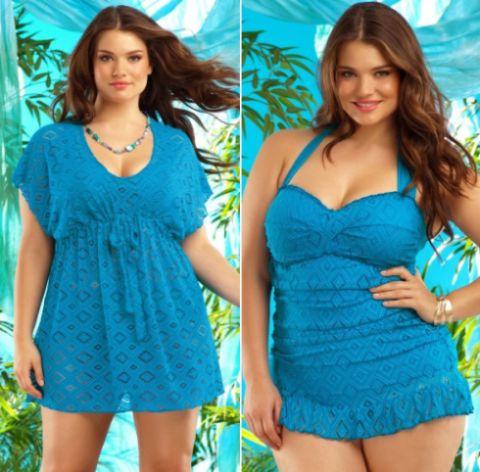 Os modelos de saídas de praia para gordinhas verão 2014 deixarão as mulheres plus size ainda mais bonitas e charmosas (Foto: Divulgação)