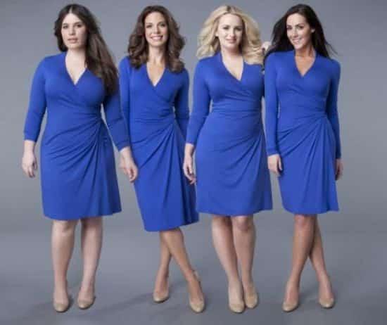 Para a alegria das mulheres há muitos modelos de vestidos que emagrecem (Foto: Divulgação)