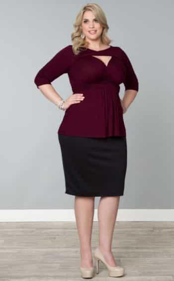 A moda plus size está bem elegante e traz várias opções de roupas para gordinhas (Foto: Divulgação)