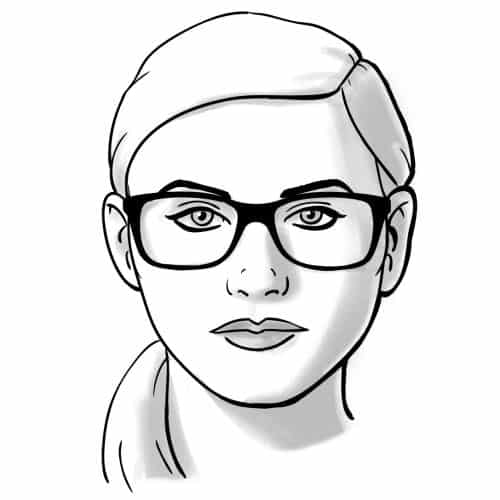 3b962ef2c593e Modelos de Óculos de Grau para Gordinhas