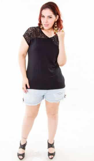 8ff7e241c Shorts Jeans para Gordinhas Modelos 2016 5 - Plus Size com Estilo