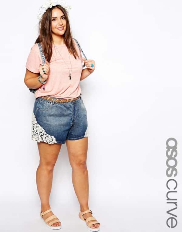 efdb0a419 shorts-para-mulheres-gordinhas - Plus Size com Estilo