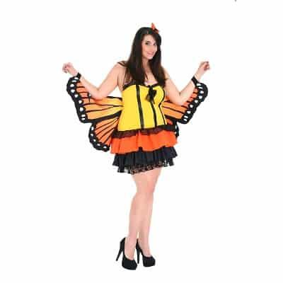 fantasia tamanho especial borboleta