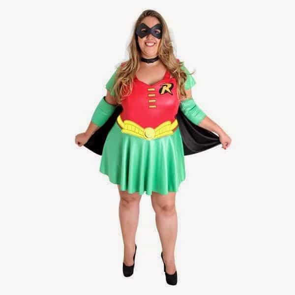 fantasias plus size robin feminina