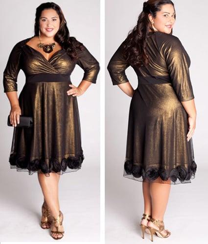 vestido gode preto