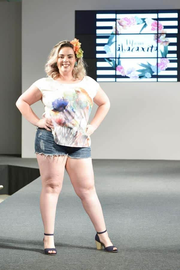 saias plus size verão