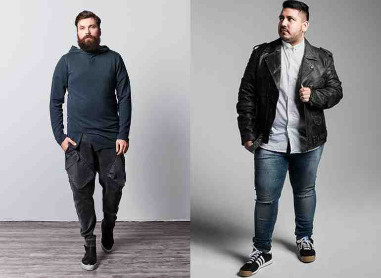 moda plus size masculina