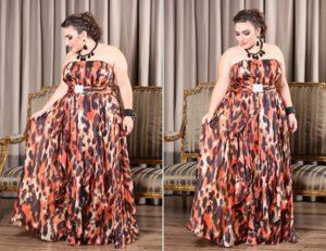 vestidos sociais para casamento plus size