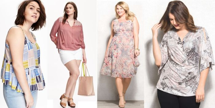 look plus size fashion