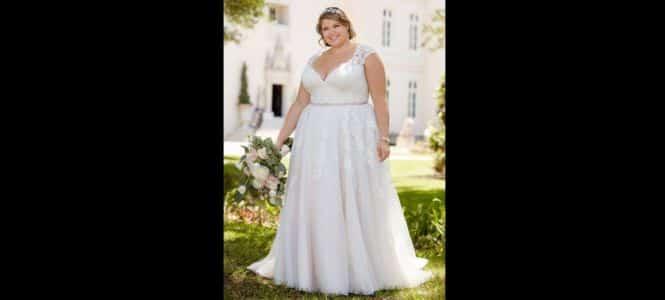 Vestido De Noiva Plus Size 2018 Dicas Tendências Para O