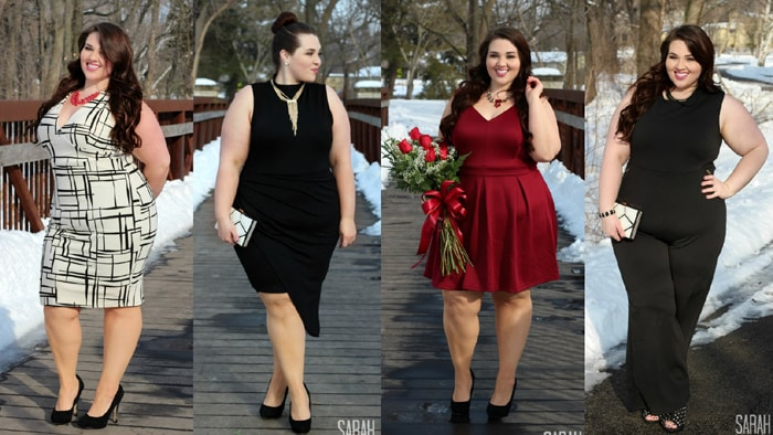 look plus size sofisticado