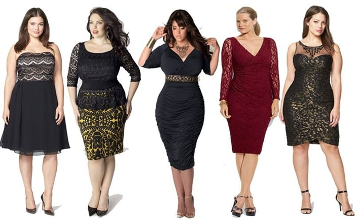 look plus size chique