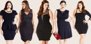 look plus size de festa