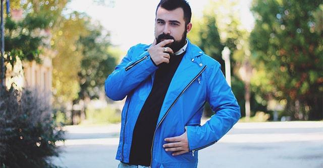 look masculino jaqueta