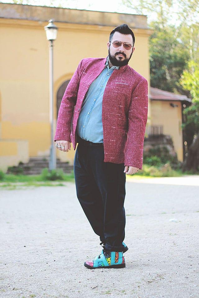 look masculino blazer
